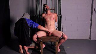 Young Bondage Slave Bound, Gagged & Jerked Off Until He Cums – Gay BDSM – DreamBoyBondage.com